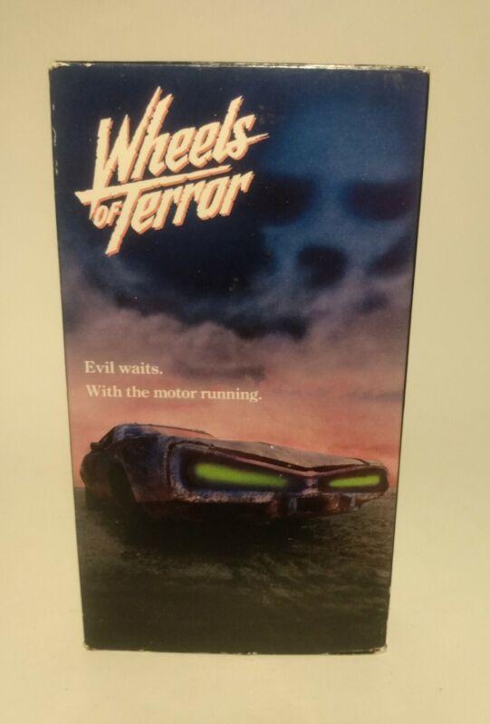 WHEELS OF TERROR (VHS) 1991 Horror Cult Movie