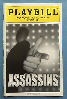 ASSASSINS Playbill (2004) Neil Patrick Harris + Michael Cerveris + James - Harris Neil