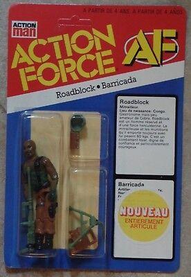 GI Joe Action Force Roadblock 3.75