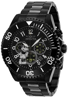 Invicta 27754 Disney Limited Edition Men's Chronograph 47.0mm Black Watch