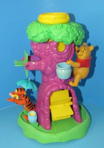 "Tim Mee Toys Rare Disney 1991 Winnie The Pooh Treehouse Bath-toy 13"" L@@K"