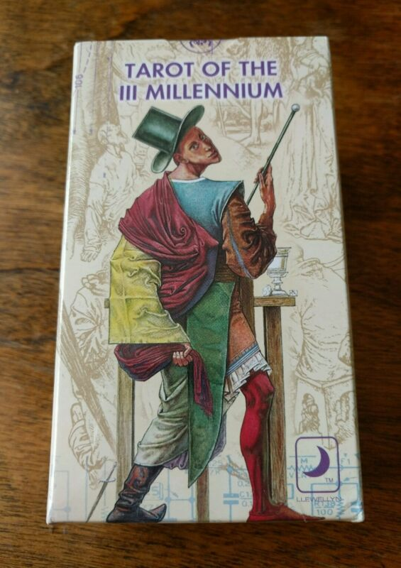 Tarot of the (Third) III Millennium *New & Sealed Deck* FANTASTIC Art RARE DECK