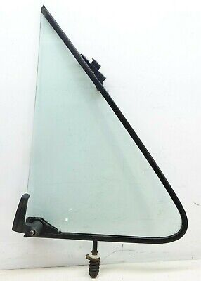 Ford F150 F250 F350 Bronco Vent Window Glass Wing Left Side Driver Door 80 - 91