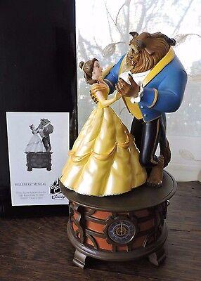 "Disney Parks Beauty & Beast Musical ""TALE AS OLD AS TIME"" Ballroom Music Box NIB"