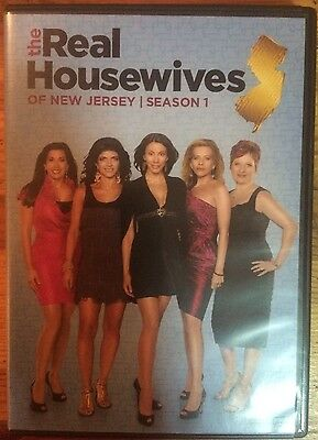 The Real Housewives Of New Jersey  Season 1  Dvd  2010  3 Disc Set