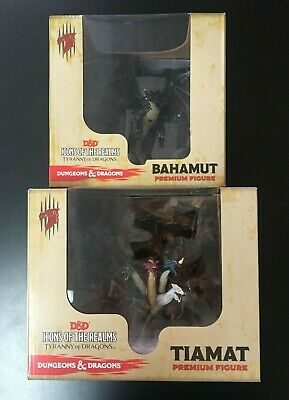 Icons of the Realms Tiamat and Bahamut Factory Sealed Sun City Games!!!