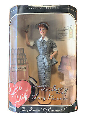 "Barbie I Love Lucy ""Lucy Does A TV Commercial"" Doll Episode 30 MIB"