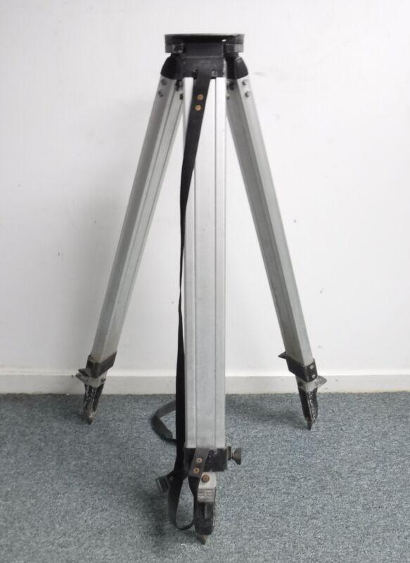 Instrument Tripod Foldable Adjustable Aluminum Surveying Engineering Equipment