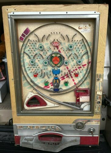 Vintage Sophia Mechanical Pinball Pachinko Machine Model F9691