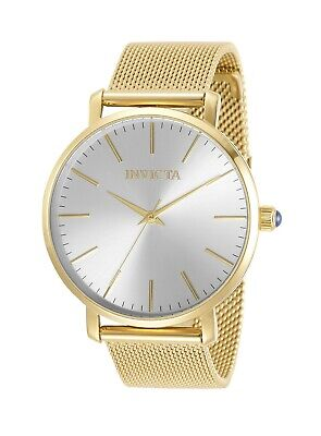 Invicta Women's Angel 31070 38mm Silver Dial Stainless Steel Watch