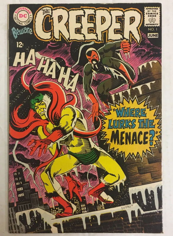 Beware The Creeper #1  (1969) F/VF condition Steve Ditko