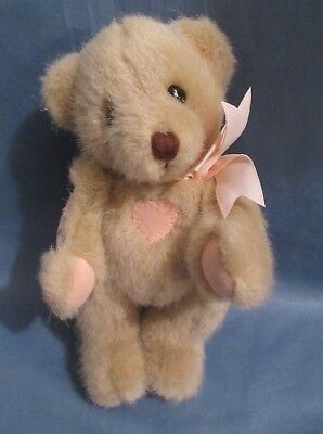 "1994 Dakin Cherished Teddies Priscillia Hillman 8"" Jointed Teddy Bear Tyler"