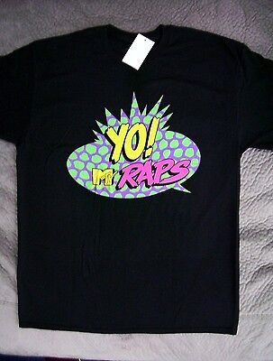 Yo  Mtv Raps Music Television Retro T Shirt  New With Tags  Officially Licensed