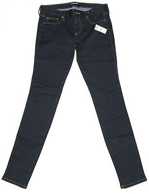 Express Jeans Low Rise Stretch Legging Dark Wash Denim Jeans Women's Size - Low Rise Denim Legging