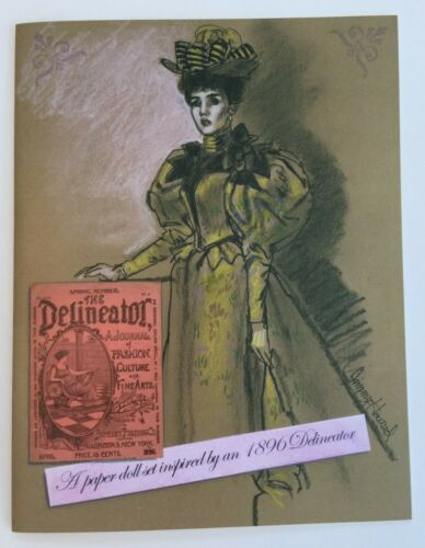 *Special Edition!* 1896 DELINEATOR PAPER DOLLS by Jim Howard