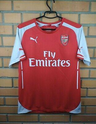 1d4b0b66f Arsenal jersey medium 2014 2015 home shirt soccer football Puma