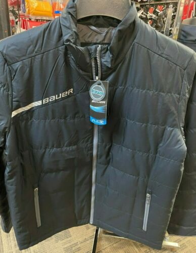 Bauer Flex Bubble Team Jacket - Black *New* Multiple Sizes