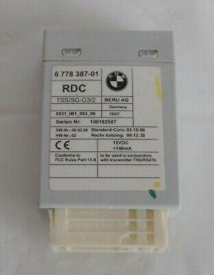 2004-2010 BMW 335i X5 5-Series TPMS Tire Pressure Monitor Module 6 778 387-01