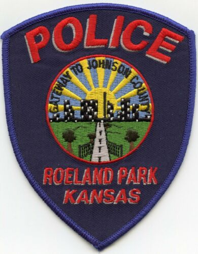 ROELAND PARK KANSAS KS Gateway To Johnson County POLICE PATCH