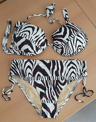 Bikini Class International Zebra Gr.38 Cup E NEU
