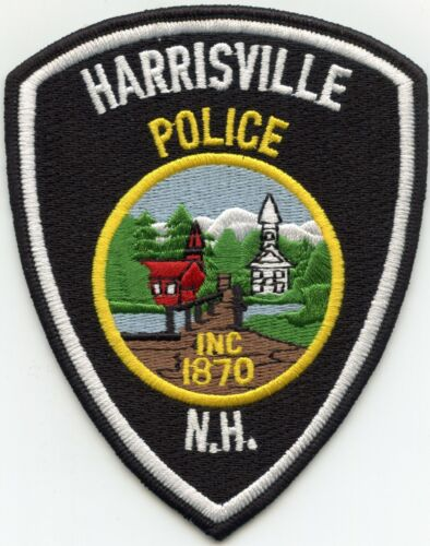 HARRISVILLE NEW HAMPSHIRE NH POLICE PATCH