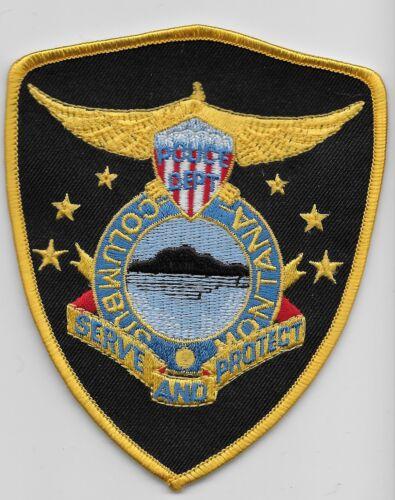 Columbus Police State Montana MT