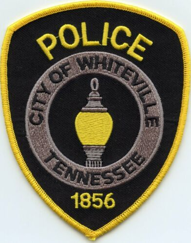 WHITEVILLE TENNESSEE TN POLICE PATCH