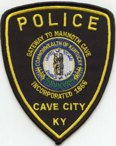 CAVE CITY KENTUCKY KY Gateway To Mammoth Cave POLICE PATCH