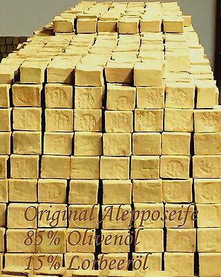 10 KG Original  Alepposeife, 85% Olivenöl+15% Lorbeeröl, ( 100gr/ 1,15€ ) Neu