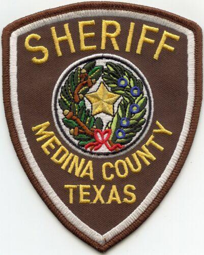 MEDINA COUNTY TEXAS TX SHERIFF POLICE PATCH