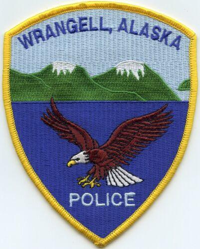 WRANGELL ALASKA AK POLICE PATCH