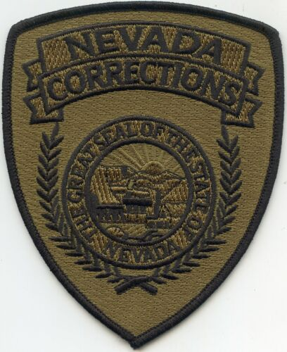 NEVADA NV STATE DOC subdued CORRECTIONS sheriff police PATCH