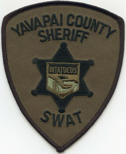 YAVAPAI COUNTY ARIZONA AZ Special Weapons And Tactics SWAT SHERIFF POLICE PATCH