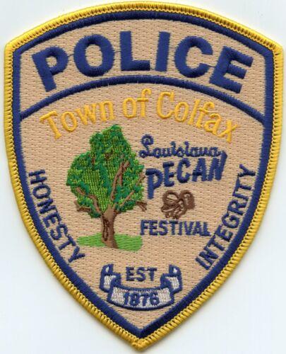 COLFAX LOUISIANA Louisiana Pecan Festival POLICE PATCH
