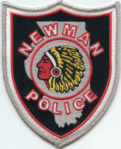 NEWMAN ILLINOIS IL indian POLICE PATCH