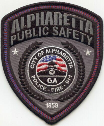 ALPHARETTA GEORGIA GA style #A PUBLIC SAFETY 9-1-1 DISPATCHER FIRE POLICE PATCH