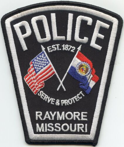 RAYMORE MISSOURI MO POLICE PATCH
