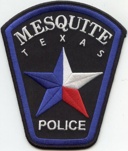 MESQUITE TEXAS TX POLICE PATCH