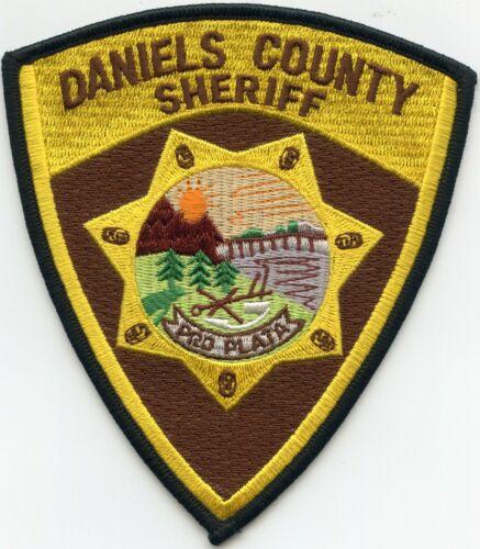 DANIELS COUNTY MONTANA MT SHERIFF POLICE PATCH