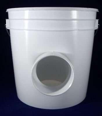 Automatic Chicken Duck Hanging 2 Gal Gravity Feeder- High Capacity - Heavy Duty