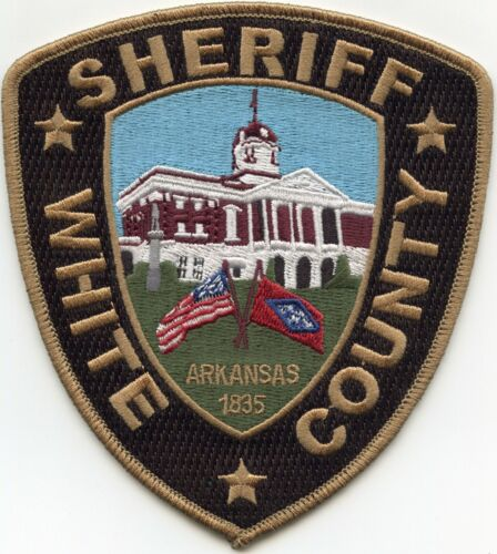WHITE COUNTY ARKANSAS AR SHERIFF POLICE PATCH