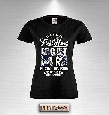 T-Shirt Boxe Boxhandschuhe Wettspiel Ring Sport Force Bestimmung Mode Schlank (Boxhandschuhe Spielen)