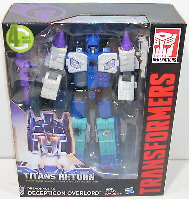 Transformers Generations OVERLORD & DREADNAUT Titans Return SEALED Leader Class