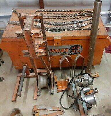 Ensley 440 Greenlee 640 4000lb Electric Wire Puller Tugger Ed4u 9000