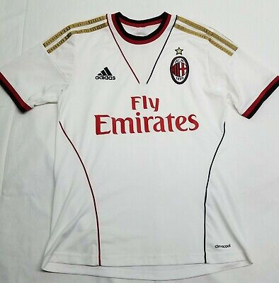 AC Milan Jersey | Youth L LARGE | Adidas Climacool | Free Shipping
