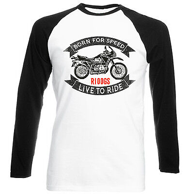 BMW R100GS - NEW COTTON TSHIRT - ALL SIZES IN STOCK