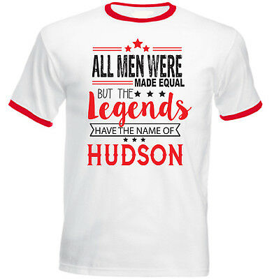 HUDSON - NEW RED RINGER COTTON TSHIRT