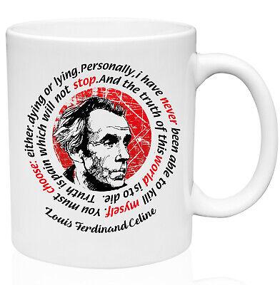 Ferdinand Mug (Celine Louis Ferdinand 11oz Ceramic High Quality Coffee Mug )