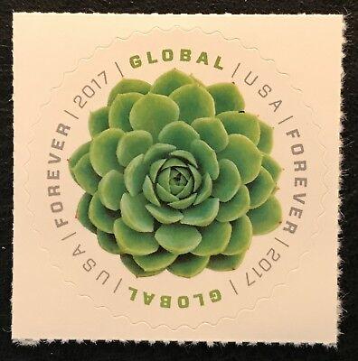 2017 Scott  5198   Global Forever   1 15     Green Succulent   Single Mint Nh