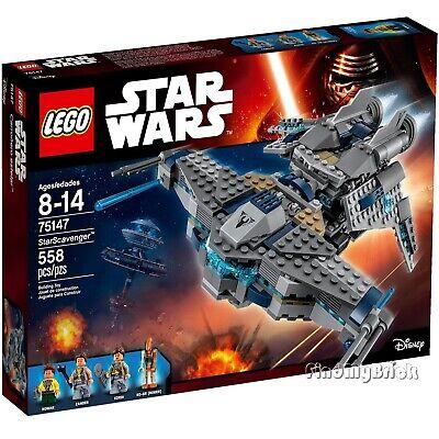 Lego Star Wars 75147 StarScavenger - Kordi Rowan Zander RO-GR Roger Sealed NEW